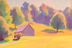 Late Summer Afternoon, 12 x 14, oil on masonite, by Peter Guest. Value: $1500 Starting bid: $150 Bid Increments: $50