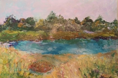 Dowse's Beach by Marguerite Smit 9x12 Value $600 starting bid $100