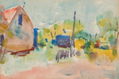 Charles Hawthorne Watercolor 16x20 Value $10,000 Reserve $6000 Courtesy Arthur and Heather Egeli