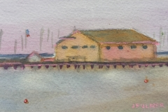 Fishermans Pier by Judith Fulmer 3x5_ Value $300 Starting bid $50