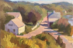 Truro by Arthur Egeli 9x12_ value $1200 Starting Bid $200
